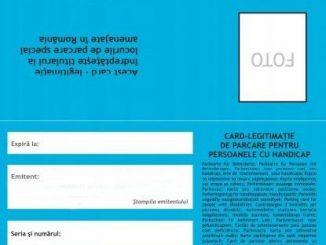 card-legitimatie-parcare-handicap